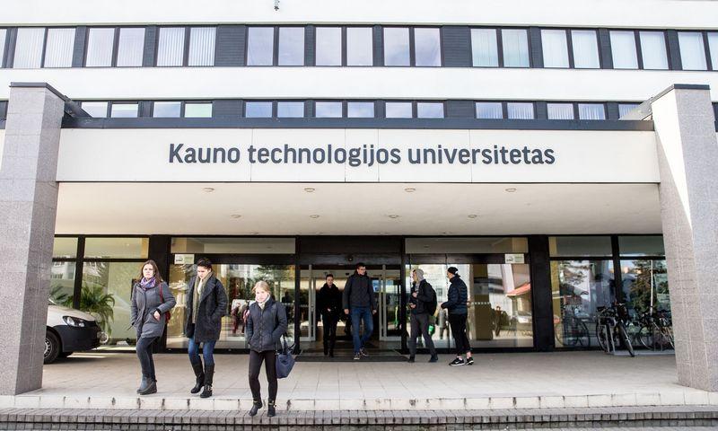 Kauno Technologijos Universitetas (KTU) Kaune, Studentų g. 50. Juditos Grigelytės (VŽ) nuotr.