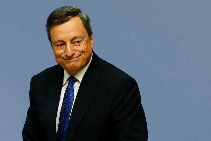 "ECB prezidentas Mario Draghi. Ralpho Orlowskio (""Reuters"" / ""Scanpix"") nuotr."