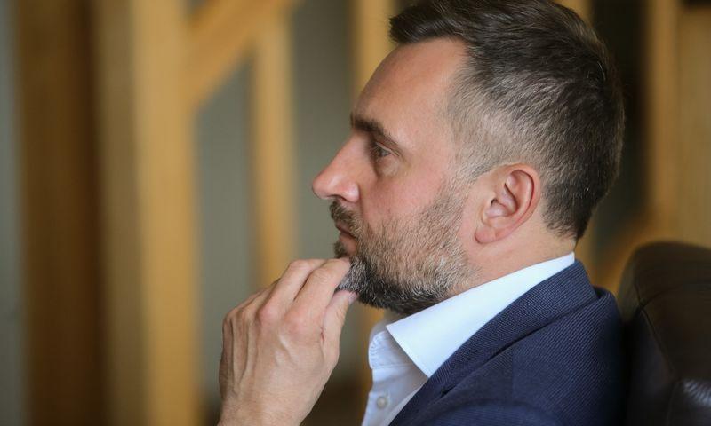 Irmantas Kamienas, Medicinos banko stebėtojų tarybos pirmininkas. Vladimiro Ivanovo (VŽ) nuotr.