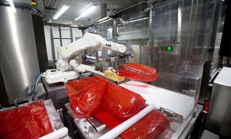Pastaruoju metu išaugęs gamybos efektyvumas pasiektas investuojant į procesus – diegiant taupiąją gamybą ir kitas sistemas, tačiau beveik neinvestuojant į procesų automatizavimą, robotizavimą, skaitmeninimą. Vladimiro Ivanovo (VŽ) nuotr.