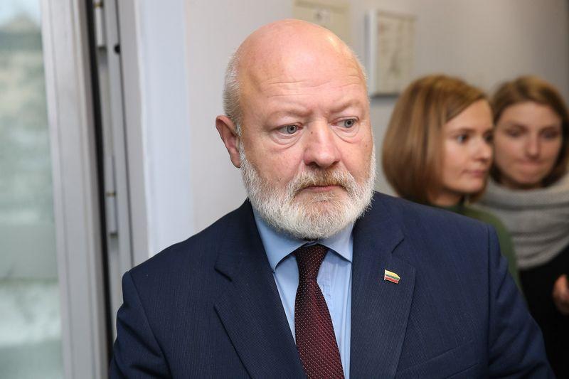 Eugenijus Gentvilas, Seimo narys ir Liberalų sąjūdžio vadovas. Vladimiro Ivanovo (VŽ) nuotr.