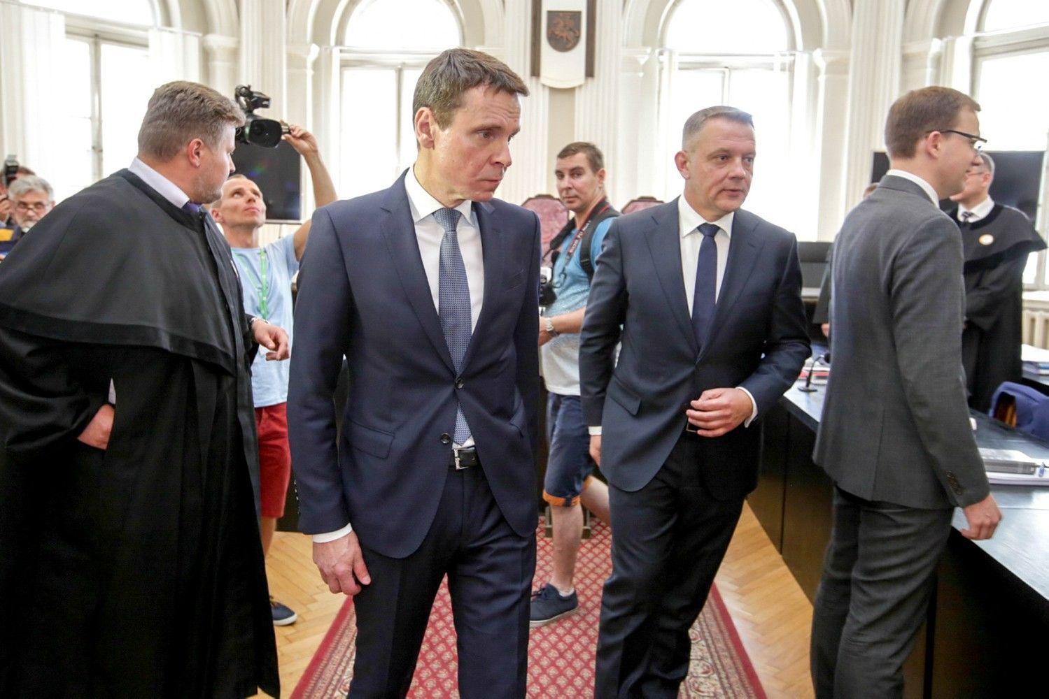 """""""MG Baltic"""" politinės korupcijos byla į prokuratūrą negrįš"""
