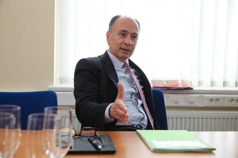 Tassas Haniotis, Europos Komisijos Žemės ūkio ir kaimo plėtros direktorato direktorius. Vladimiro Ivanovo (VŽ) nuotr.