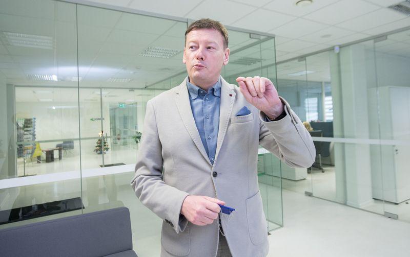 """Vidmantas Janulevičius, """"Global BOD Group"""" valdybos pirmininkas. Juditos grigelytės (VŽ) nuotr."""