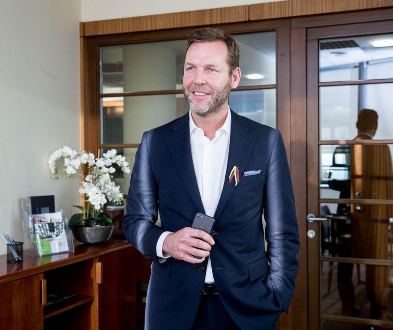 """""""Telios"""" CEO Johanas Dennelindas: """"Mes vis dar kažkur per daug hierarchiški, o norime būti greitesni ir lankstesni."""" Juditos Grigelytės (VŽ) nuotr."""