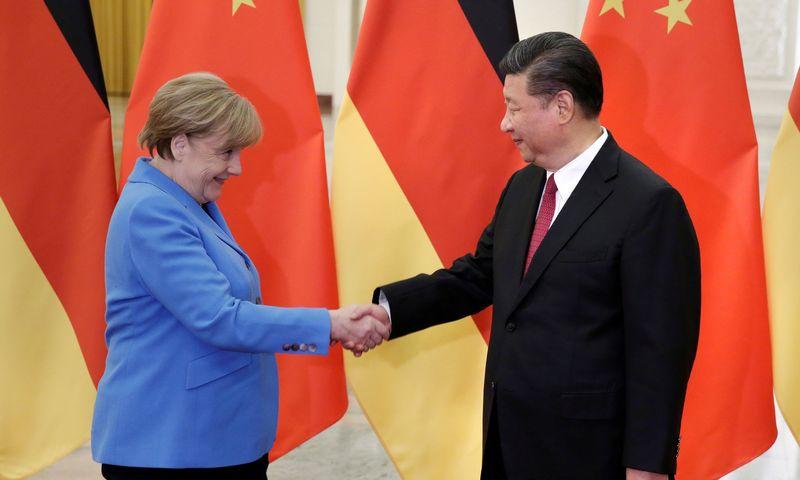 """Kinų investicijos į strategiškai svarbios infrastruktūros objektus Rytų ir Pietų Europoje pagaliau sulaukė atidesnio Europos institucijų dėmesio. """"Reuters"""" nuotr."""