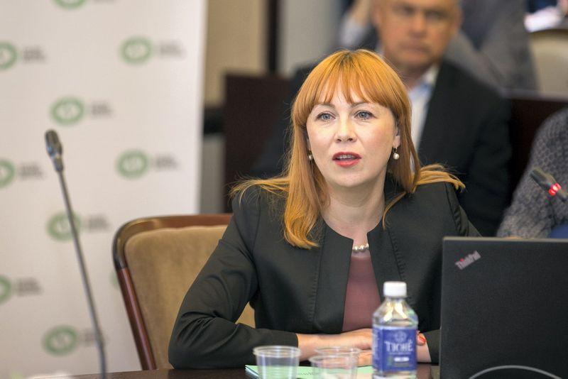 Švietimo ir mokslo ministė Jurgita Petrauskienė. Žygimanto Gedvilos (15min / Scanpix) nuotr.
