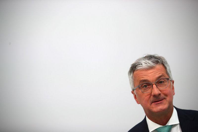 """Rupertas Stadleris, """"Audi"""" vadovas ir valdybos pirmininkas. Michaelo Dalderio (""""Reuters"""" / """"Scanpix"""") nuotr."""