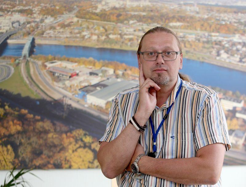 """Antanas Ėmužis, AB """"Freda"""" generalinis direktorius: """"Vertindami tolesnę perspektyvą, esame priversti galvoti apie plėtrą, kas bus po 2025–2026 m."""" Vladimiro Ivanovo (VŽ) nuotr."""