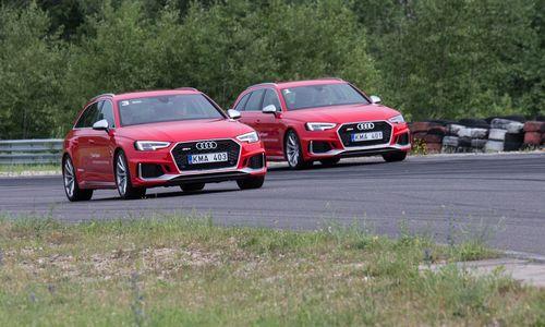 """Naujoje vairavimo mokykloje – Baltijos šalyse dar nematyti """"Audi RS4"""""""