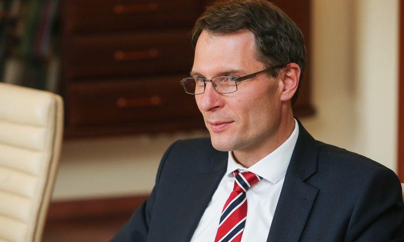 Elvinas Jankevičius, teisingumo ministras. Vladimiro Ivanovo (VŽ) nuotr.
