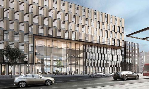 """""""Hanner"""" suplanavo antrą biurų pastatą Žalgirio stadiono teritorijoje"""