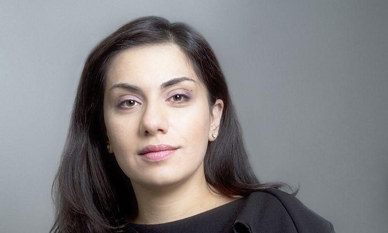 """Karina Tsurkan, Rusijos elektros energijos koncerno """"Inter RAO"""" grupės valdybos narė ir antrinės įmonės """"Inter RAO Lietuva"""" valdybos pirmininkė. Aleksandro Baskakovo (""""Inter RAO"""") nuotr."""
