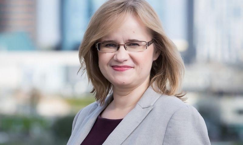 Daiva Brasiūnaitė, finansų viceministrė. Finansų ministerijos nuotr.