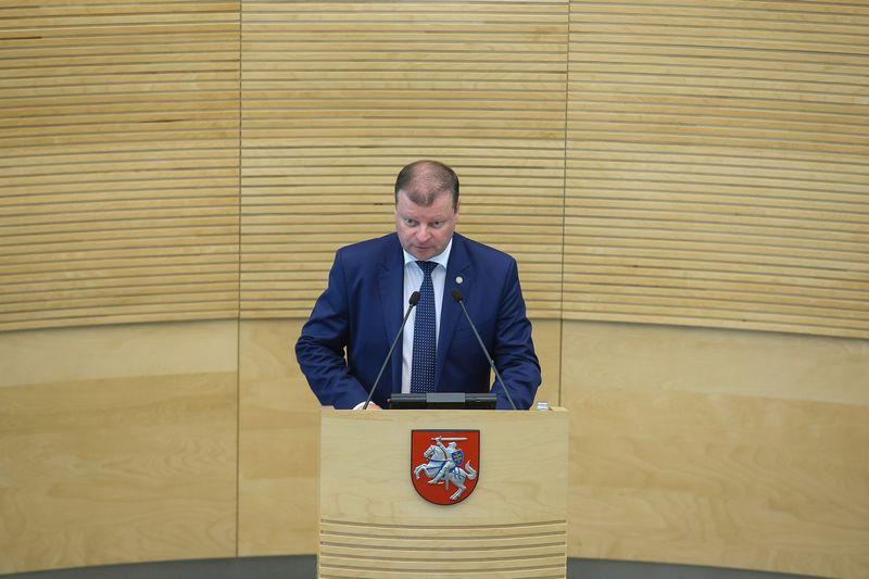 Ministras Pirmininkas Saulius Skvernelis.. Vladimiro Ivanovo (VŽ) nuotr.