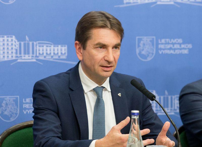 """""""Lietuvos energijos"""" vadovas Darius Maikštėnas. Juditos Grigelytės (VŽ) nuotr."""