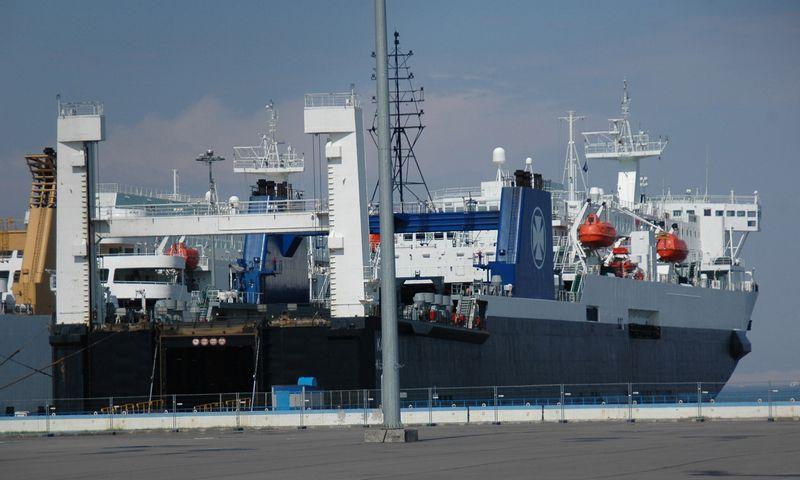 """""""Kaunas Seaways"""", kaip ir """"Vilnius Seaways"""", liks plaukioti Juodojoje jūroje. Bendrovės nuotr."""