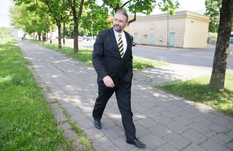 Rytis Mykolas Račkauskas, Panevėžio miesto meras. Juditos Grigelytės nuotr.