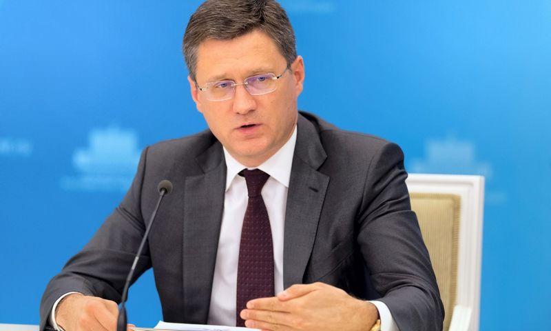 "Aleksandras Novakas, Rusijos energetikos ministras. Sergey Guneev, (""Sputnik""/""Scanpix"" nuotr.)"