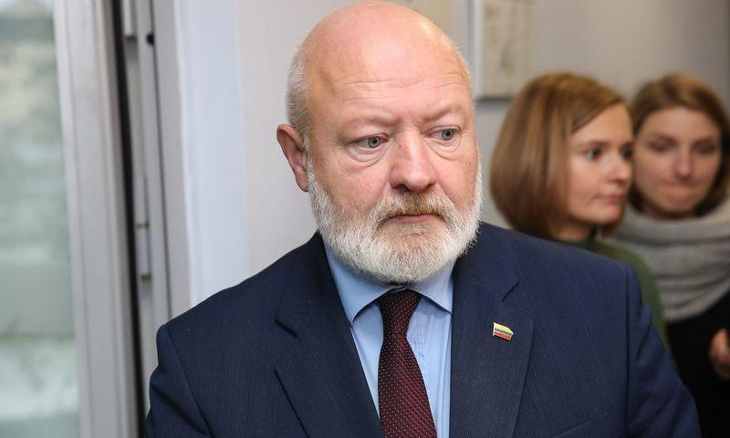 Eugenijus Gentvilas, Liberalų sąjūdžio pirmininkas. Vladimiro Ivanovo (VŽ) nuotr.