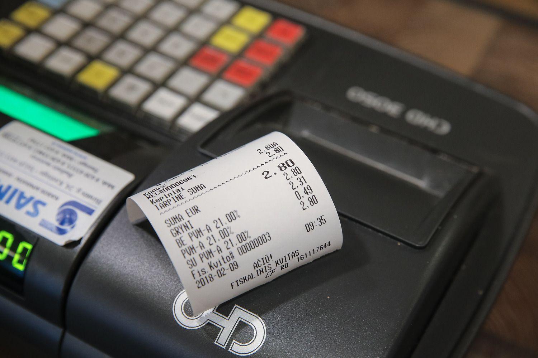 Čekių loterija atnešė beveik 2 mln. Eur papildomų mokesčių į biudžetą
