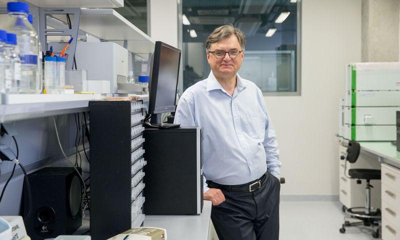 Gintaras Valinčius, Vilniaus universiteto Gyvybės mokslų centro direktorius. Juditos Grigelytės (VŽ) nuotr.