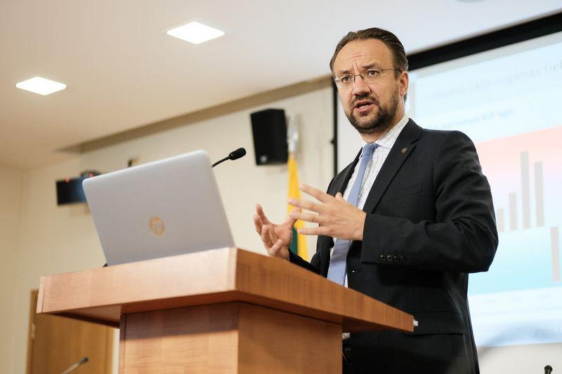 Gediminas Šimkus, LB Ekonomikos ir finansinio stabilumo tarnybos direktorius.Vladimiro Ivanovo (VŽ) nuotr.