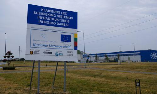 Klaipėdos LEZ įmonių apyvarta pasiekė 1 mlrd. Eur