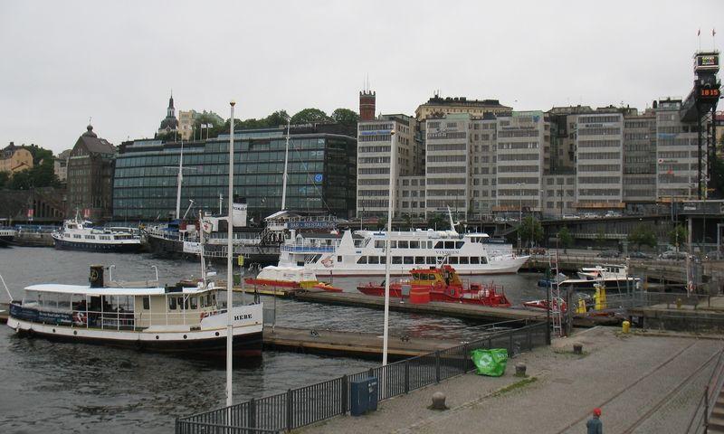 Švedijos sostinė Stokholmas. Vladimiro Ivanovo (VŽ) nuotr.