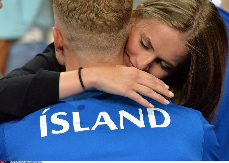 """Futbolo rinktinė pastaraisiais metais tapo nacionaliniu Islandijos pasididžiavimu. SIPA / """"Scanpix"""" nuotr."""
