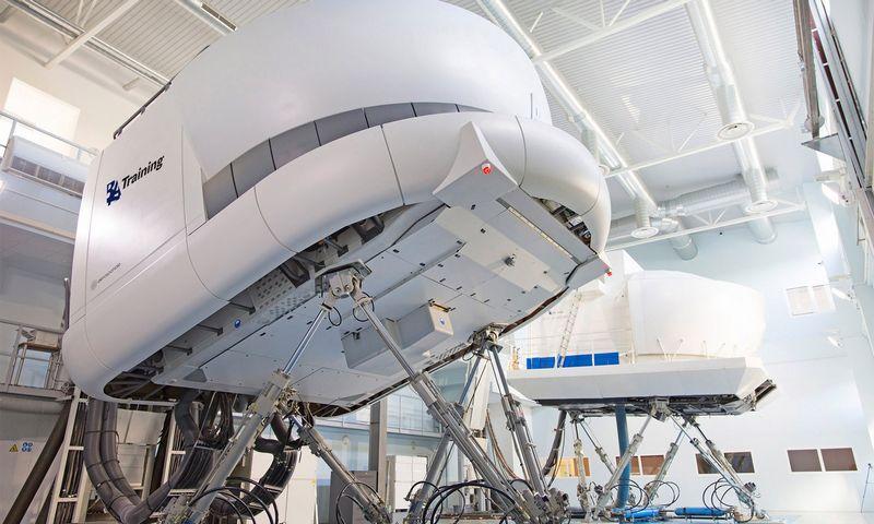 """""""BAA Training"""" už 12 mln. Eur perka du naujus skrydžio simuliatorius. Bendrovės nuotr."""