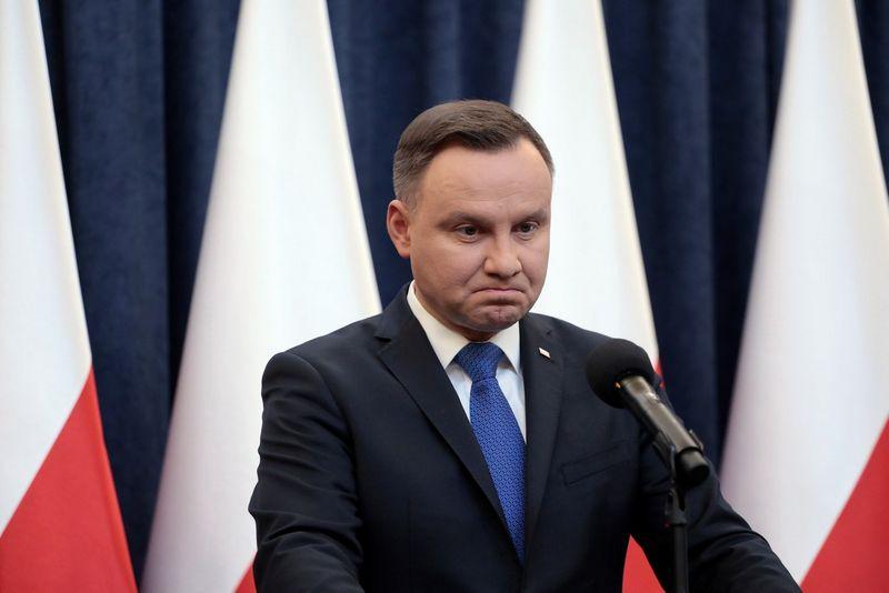 """Andrzejus Duda, Lenkijos prezidentas. Dawido Zuchowicziaus (""""Agencja Gazeta"""" / """"Scanpix"""") nuotr."""
