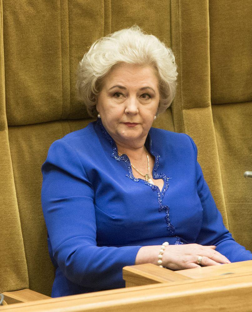 Brazauskienė teisme reikalauja per 100.000 Eur už nesumokėtą rentą