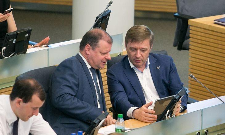 Seimas galutinai palaimino mokesčių reformą