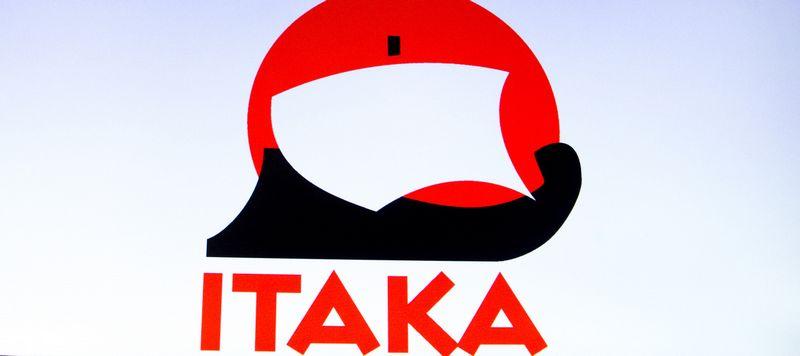 """Kelionių organizatoriaus""""Itaka"""" logotipas. Juditos Grigelytės (VŽ) nuotr."""