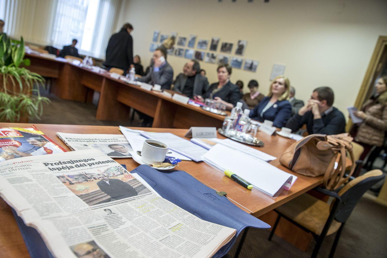 Dirbs naujos sudėties Trišalė taryba