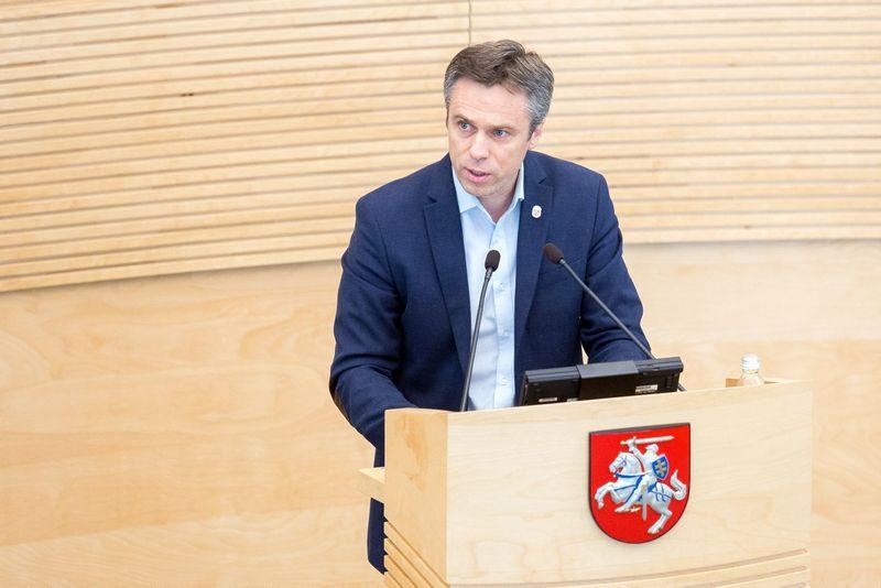 Viliumi Semeška, Vyriausiosios rinkimų komisijos narys. Luko Balandžio (15min.lt / Scanpix) nuotr.