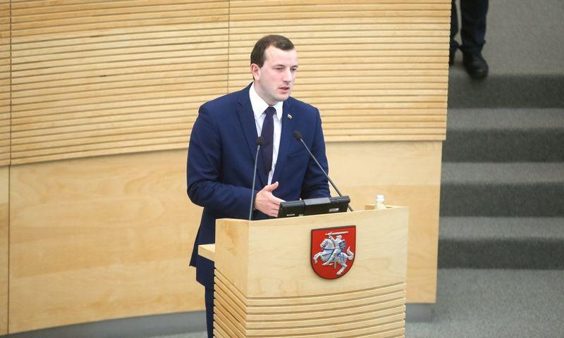 Ūkio ministras Virginijus Sinkevičius. Vladimiro Ivanovo (VŽ) nuotr.