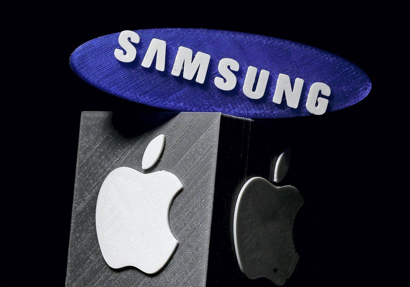 """""""Apple"""" ir """"Samsung"""" po 7 metų pagaliau susitarė"""