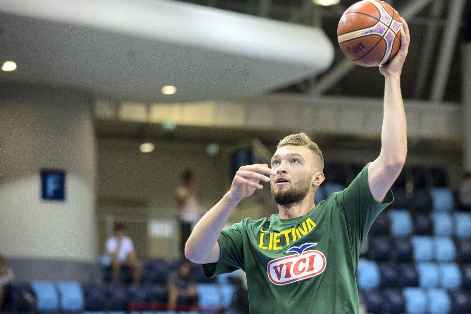 Lietuvos krepšinio rinktinė nesunkiai įveikė Vengriją