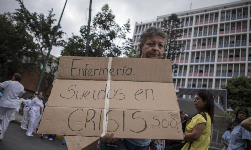 Protestai Venesueloje. Raynero Penos (Sipa / Scanpix) nuotr.