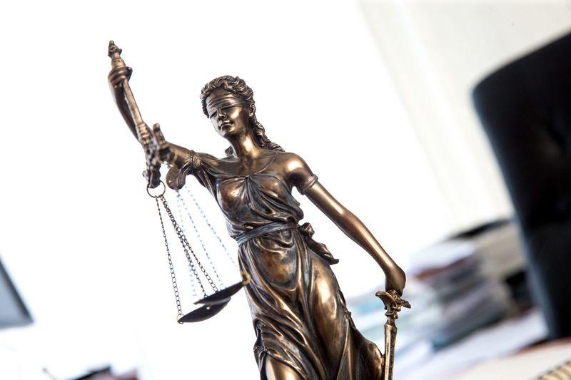 Teisininkai egzistuoja, nes žmogus nesugeba sugyventi su kitu žmogumi. Juditos Grigelytės (VŽ) nuotr.