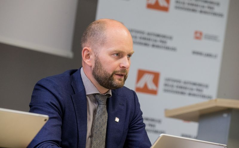 Vitalijus Andrejevas, laikinai einantis LAKD direktoriaus pareigas. Juditos Grigelytės (VŽ) nuotr.