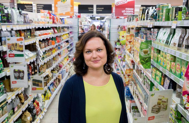 """Lina Muižienė, prekybos centro """"IKI"""" rinkodaros vadovė pradeda eiti prekyboss tinklo valdymo direktorės pareigas. Juditos Grigelytės (VŽ) nuotr."""