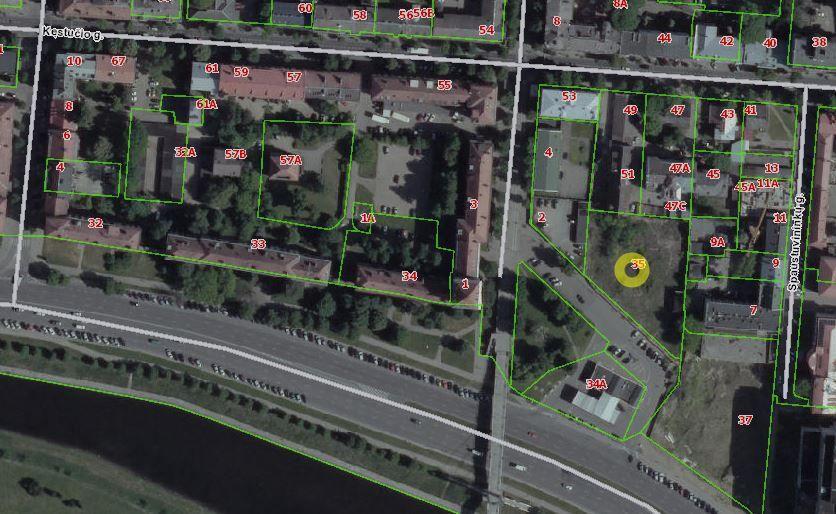 Kauno centre suplanuotas 10.000 kv. m ploto verslo centras