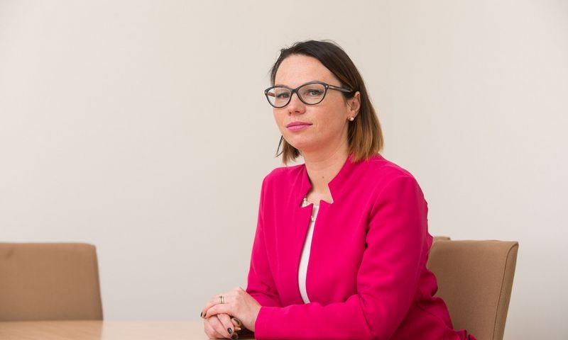 """Eglė Radišauskienė, socialinės apsaugos ir darbo viceministrė Eglė Radišauskienė: """"Toliau stebėkime rezultatus, žiūrėkime, kaip sekasi DK gyvuoti, o po kurio laiko kompleksiškai peržiūrėkime pačias problematiškiausias vietas."""" Vladimiro Ivanovo (VŽ) nuotr."""
