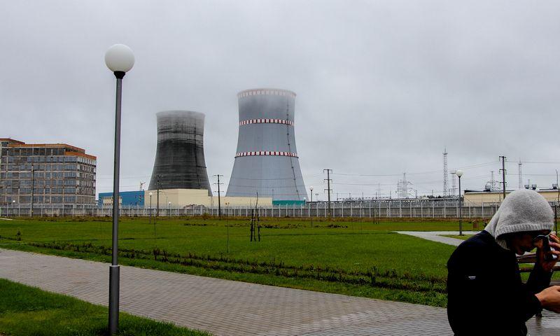 """Astravo atominė elektrinė. Ernesto Naprio (""""15min"""") nuotr."""