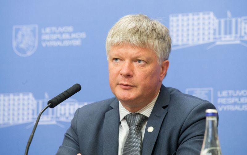 Aplinkos ministras Kęstutis Navickas. Juditos Grigelytės (VŽ) nuotr.
