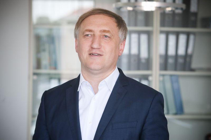 Kęstutis Bagdonavičius, ERGO draudimo grupės Baltijos šalyse valdybos pirmininkas. Vladimiro Ivanovo (VŽ) nuotr.
