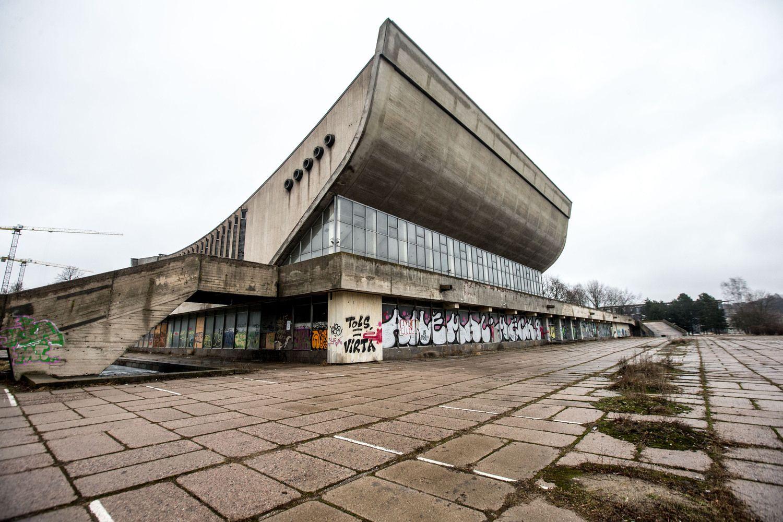 Vilniaus koncertų ir sporto rūmų rekonstrukcijai ieško projektuotojų